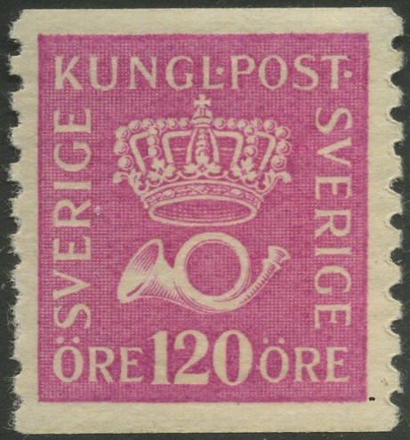 Facit 172b mnh CROWN AND POSTHORN FINE